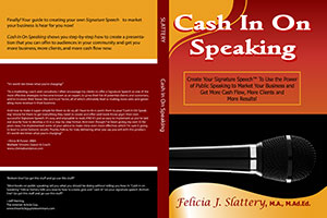 Cash in on Speaking